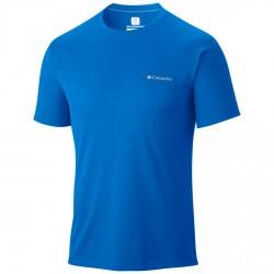 T-shirt trekking Columbia Zero Rules Uomo royal