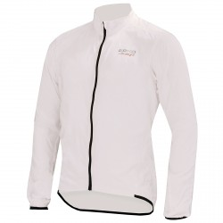 Chaqueta ciclismo cortaviento Briko Piuma blanco