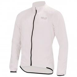 Giacca ciclismo antivento Briko Piuma bianco