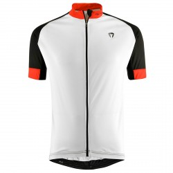 Bike shirt Briko Zampillo Man white-black