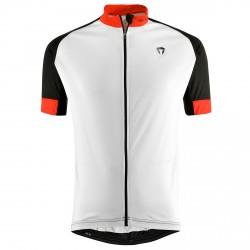Maillot cyclisme Briko Zampillo Homme blanc-noir