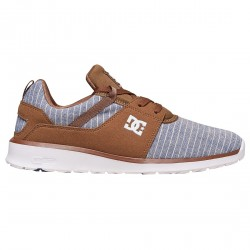 Sneakers Dc Heathrow Lx Uomo blu-marrone