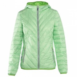 Trekking down jacket Rock Experience Spike Woman green-lilac