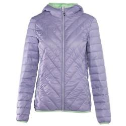 Trekking down jacket Rock Experience Spike Woman lilac-green