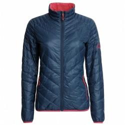 Trekking down jacket Rock Experience Spark Evo Woman blue