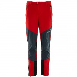 Trekking pants Rock Experience Orion 1 Man red-grey