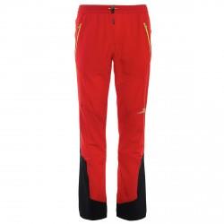 Pantalon trekking Rock Experience Tsunami Homme rouge-noir