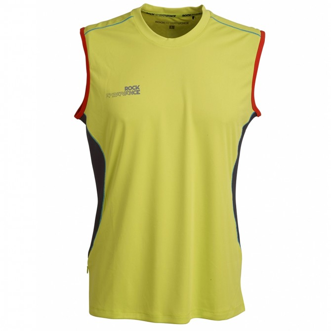 Camiseta trekking Rock Experience Thiunder 7 Hombre lime