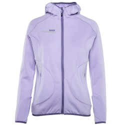 Trekking sweater Rock Experience Square Woman lilac