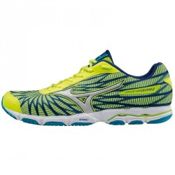 Running shoes Mizuno Wave Hitogami 4 Man yellow-royal