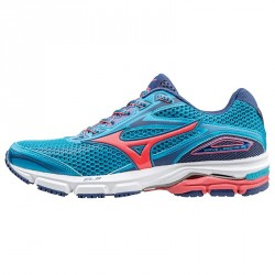 Running shoes Mizuno Wave Legend 4 Woman turquoise-pink