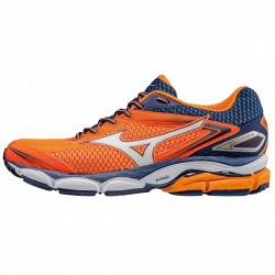 Chaussures running Mizuno Wave Ultima 8 Homme orange-bleu