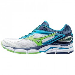 Running shoes Mizuno Wave Ultima 8 Man white-blue