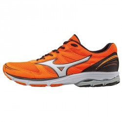 Running shoes Mizuno Wave Aero 15 Man orange