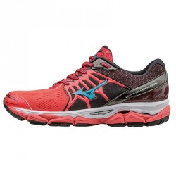 Running shoes Mizuno Wave Horizon Woman pink-black