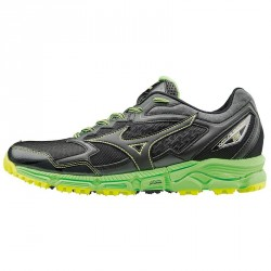 Running shoes Mizuno Wave Daichi 2 Man black