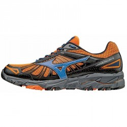 Running shoes Mizuno Wave Mujin 3 Man orange