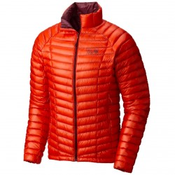 Trekking down jacket Mountain Hardwear Ghost Whisperer Man orange