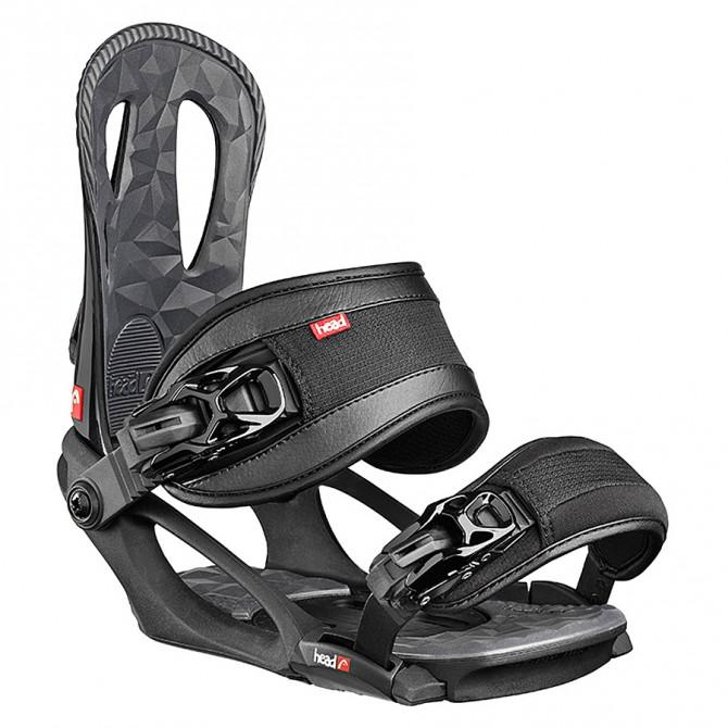 attacchi snowboard Head Nx One nero