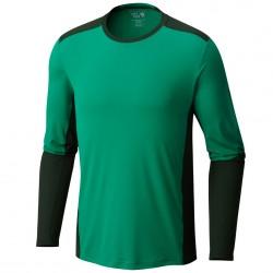 T-shirt trekking Mountain Hardwear Photon Long Sleeve Homme verde