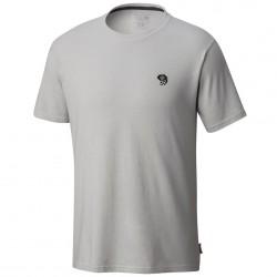 T-shirt trekking Mountain Hardwear MHW Logo Graphic Uomo grigio