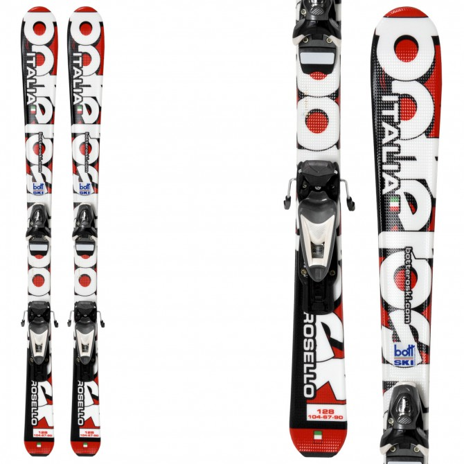 sci Bottero Ski Carosello Jr + attacchi SL7.5