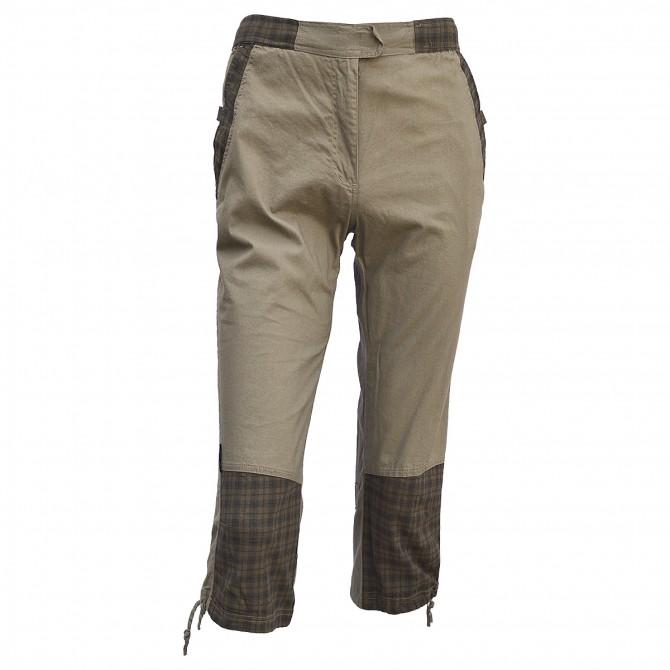 Pantalones De Senderismo Tres Cuartos Ande Marron Es