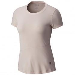 T-shirt trekking Mountain Hardwear Wicked Lite Donna rosa