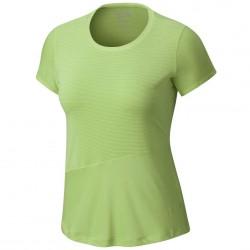 Trekking t-shirt Mountain Hardwear Wicked Lite Woman green