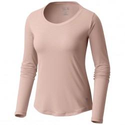 Trekking t-shirt Mountain Hardwear Wicked Lite Long Sleeve Woman pink