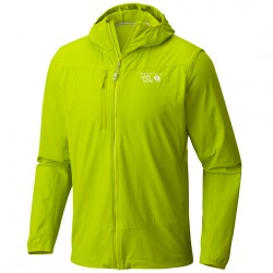 Giacca trekking Mountain Hardwear Super Chockstone Hooded Uomo lime