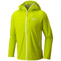 Giacca trekking Mountain Hardwear Stretch Ozonic Uomo lime