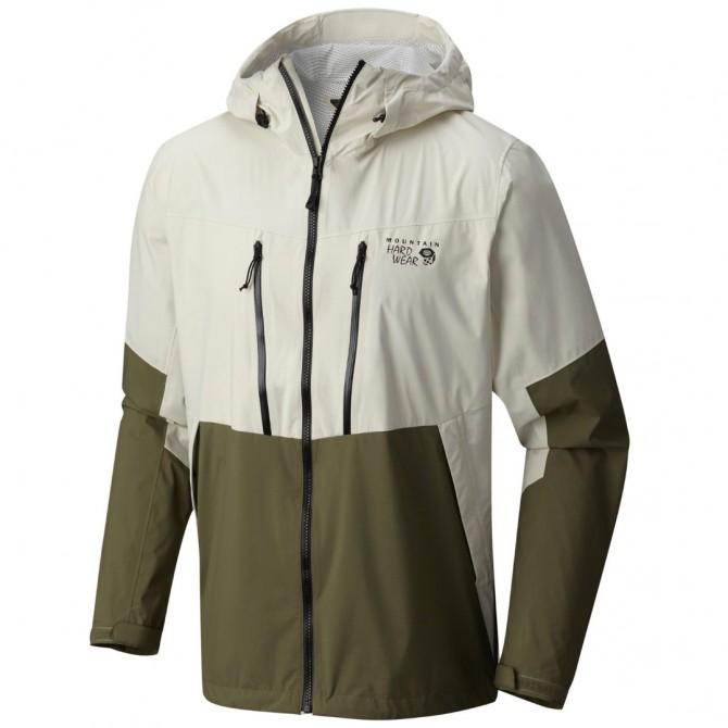 Giacca trekking Mountain Hardwear Thundershadow Uomo beige