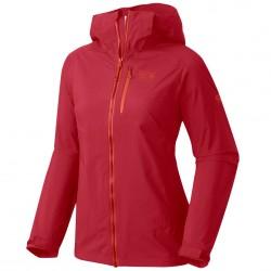 Giacca trekking Mountain Hardwear Thundershadow Donna rosso