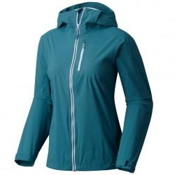 Giacca trekking Mountain Hardwear Thundershadow Donna blu