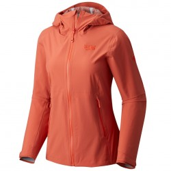 Chaqueta trekking Mountain Hardwear Stretch Ozonic Mujer naranja