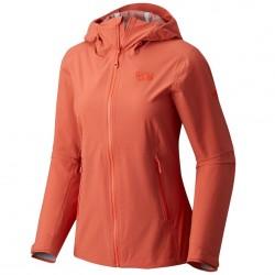 Trekking jacket Mountain Hardwear Stretch Ozonic Woman orange