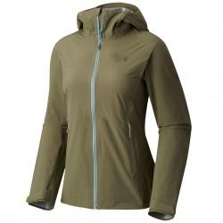 Giacca trekking Mountain Hardwear Stretch Ozonic Donna verde
