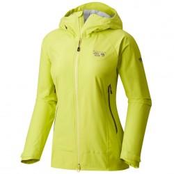 Giacca trekking Mountain Hardwear Quasar Lite Donna giallo