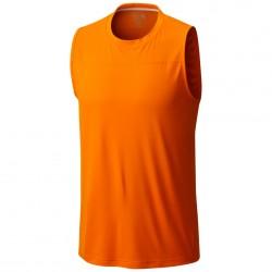 Camiseta trekking Mountain Hardwear Photon Hombre naranja