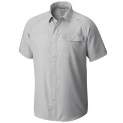 Camisa trekking Mountain Hardwear Technician Hombre gris