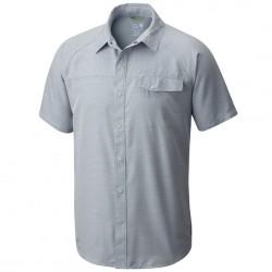 Camisa trekking Mountain Hardwear Technician Hombre azul claro