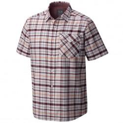 Camisa trekking Mountain Hardwear Drummond Hombre violeta-naranja