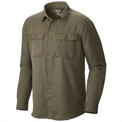 Camisa trekking Mountain Hardwear Canyon Long Sleeve Hombre verde