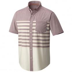 Camisa trekking Mountain Hardwear Axton Hombre rosa