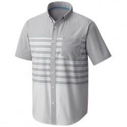 Camisa trekking Mountain Hardwear Axton Hombre gris