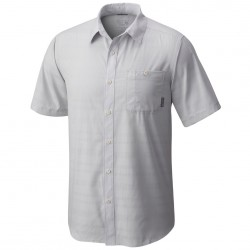 Chemise trekking Mountain Hardwear Air Tech Short Sleeve Homme gris