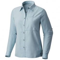 Trekking shirt Mountain Hardwear Canyon Long Sleeve Woman light blue