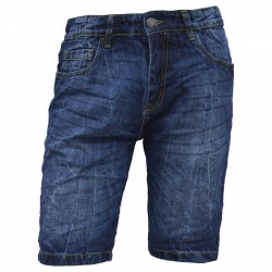 Bermuda Canottieri Portofino Jeans Man dark blue