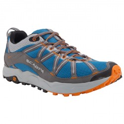 Trail running shoes Scarpa Ignite grey-light blue